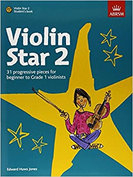Violin Star 2, Student's book, with CD (Violin Star (ABRSM)) by Edward Huws Jones (Composer) (7-Jul-2011)
