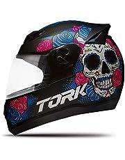 Pro Tork Capacete Evolution G7 Mexican Skull Fosco 60 Preto Fosco