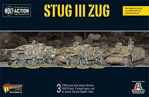 (StuG III Zug - 3 BOLT ACTION TANKS WAR SET)