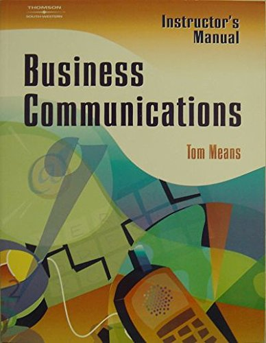 Study Guide, Business Communications