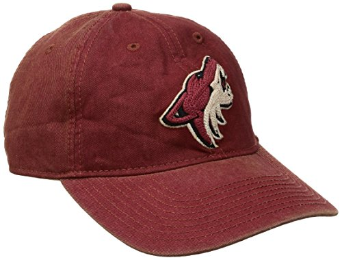 fan products of NHL Arizona Coyotes Men's SP17 Vintage Slouch Adjustable Cap, Red, One Size