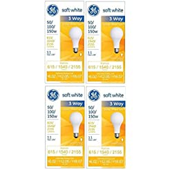 GE 97494 Lighting 50/100/150-Watt, 3-Way...