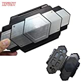 XFUNY (TM) Super Cool Hard Protective Case Cover Shell Box Storage Bag Steel Armor Case for PlayStation Vita PS Vita PSV 1000