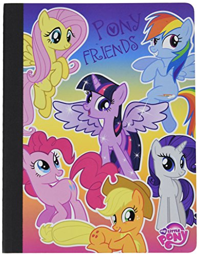 My Little Pony Pony Friends composition book 50 sheets 7.5
