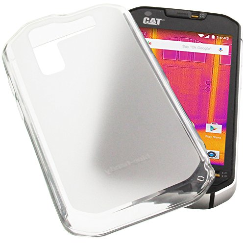 1de18d3002 Protective case for CAT S60 Rubber TPU Mobile Phone Cover Transparent White