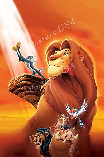Posters USA Disney Classics The Lion King Poster - DISN088 )