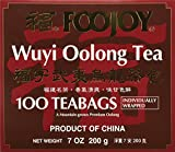 Foojoy Wuyi Mtn. Oolong (Wu Long) Tea 100 Tea Bags, 7 Ounce