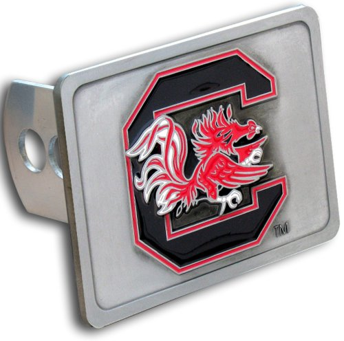 Siskiyou NCAA South Carolina Gamecocks Trailer Hitch Cover, Class III