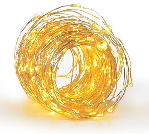 Amazon #LightningDeal 98% claimed: Christmas 33Ft 100 LEDs Copper Strings Lights