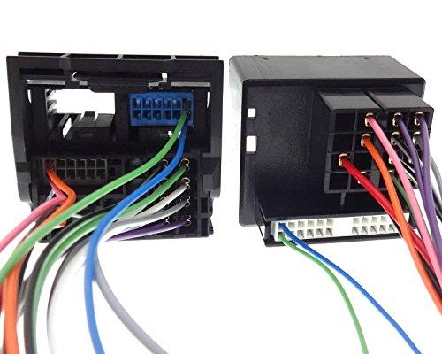 Cable Adaptador MIB MQB Quadlock para Tiguan 5N Scirocco 1K Beetle 5C Caddy CC T6
