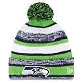 Seattle Seahawks Official NFL 2014 On Field Sport Knit Cap Winter Hat / Toque
