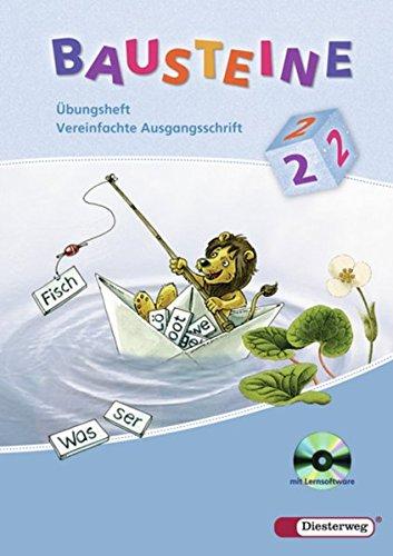 BAUSTEINE Sprachbuch - Allgemeine Ausgabe und Ausgabe Baden-Württemberg 2008: Übungsheft 2 VA mit Lernsoftware