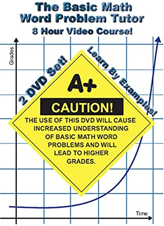 Amazon.com: The Basic Math Word Problem Tutor - 8 Hour Course ...