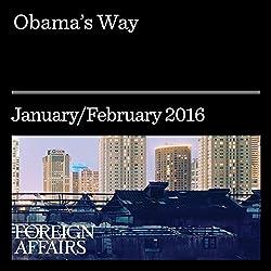Obama's Way