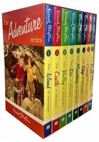Enid Blyton Adventure Series 8 Books Box Set Collection Children Classic Books