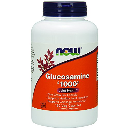 NOW Glucosamine '1000',180 Veg Capsules