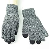 Iusun Winter Gloves for Women Men Multi-function Fashion Knit Touch Screen Cold Proof Thermal Work Lined Texting Mitten Hands Warm in Cold Weather Runing Cycling Skiing Indoor Outdoor Sports