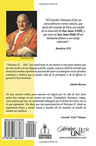 Vaticano II... HOY (Spanish Edition): Jose Juan Valdez: 9781507667538: Amazon.com: Books