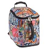 Athalon Dual Entry Ski Boot Bag, Graffiti