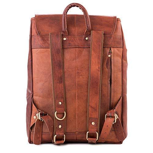 8d8e5f342e5ae Berliner Bags Rucksack Malaga aus Leder für Damen Backpack Tagesrucksack  mit Laptopfach 15