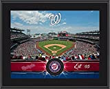 "Washington Nationals 10"" x 13"" Sublimated Team Stadium Plaque - MLB Team Plaques and Collages"