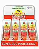 Sunsect Insect Repellent + Sunscreen 4 oz Tube Box of 12