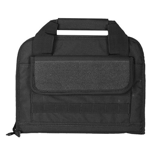 Fox Outdoor Products Dual Tactical Pistol Case, Black