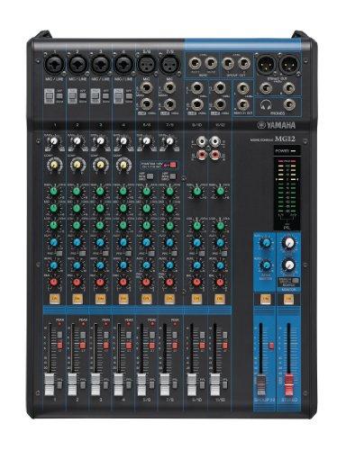 Yamaha MG12 12-Input 4-Bus Mixer (Consoles Mixing Yamaha)