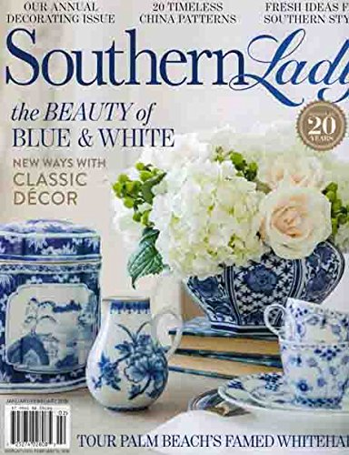 Southern Lady The Beauty of Blue & White Issue 02 PDF ePub ebook