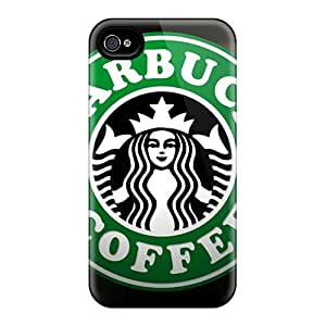 New Fashionable Blowey NUZ599YYkF Cover Case Specially Made For Iphone 4/4s(starbucks)