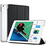 New iPad 2017 Case, iPad 9.7 case, Mateprox translucent Frosted Back Magnetic Cover with Auto Sleep/Wake Function, Full protection, Steady Stand, Smart Case Cover for 2017 iPad 9.7 inch - Black