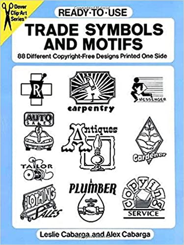 Ready To Use Trade Symbols And Motifs 88 Different Copyright Free