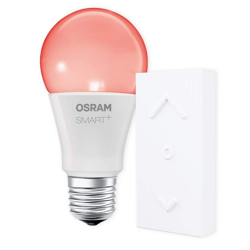 OSRAM SMART+ SWITCH KIT E27 RGB Farbwechsel dimmbar LED + Fernbedienung weiß Auswahl 1er Set