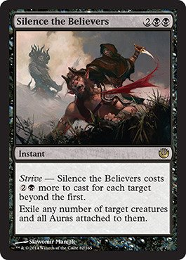 Magic: the Gathering - Silence the Believers (/165) - Journey into Nyx - Foil