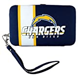 NFL San Diego Chargers Distressed Logo Shell Wristlet