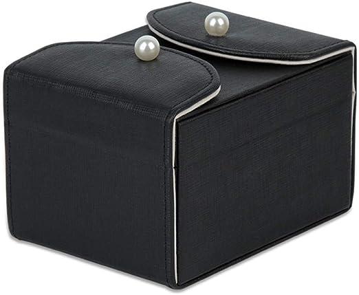Caja elegante joyería Caja de almacenamiento portátil joyero ...