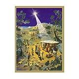 Sellmer Advent Christmas Holiday decor Nativity Scene Calendar 14''H x 10.5''W x 0.1''D by Alexander Taron