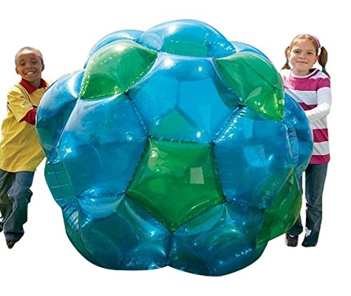 Blue-and-Green-GBOP-Great-Big-Outdoor-Play-Inflatable-Climb-Inside-Bubble-Soccer-Zorb-Ball-Heavy-Duty-PVC-Vinyl-52-Diam-150-LB-Max-Weight