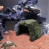Tfwadmx Reptile Rock Hide Cave, Aquarium Habitat