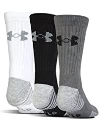 Men's Heatgear Tech Crew Socks (3 Pair Pack)