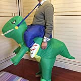 Hana Yo Inflatable Dinosaur Riding Clothes Cosplay Costume