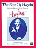 img - for The Best of Haydn (For String Quartet or String Orchestra): Score book / textbook / text book