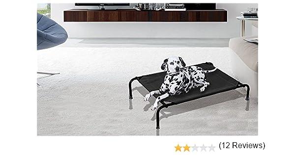 Cama para perros apta para interiores y exteriores TALLA M-105x76x20 cm: Amazon.es: Hogar