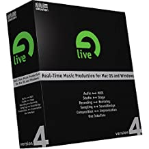 Ableton Live 4 MIDI Software (Windows / Macintosh)