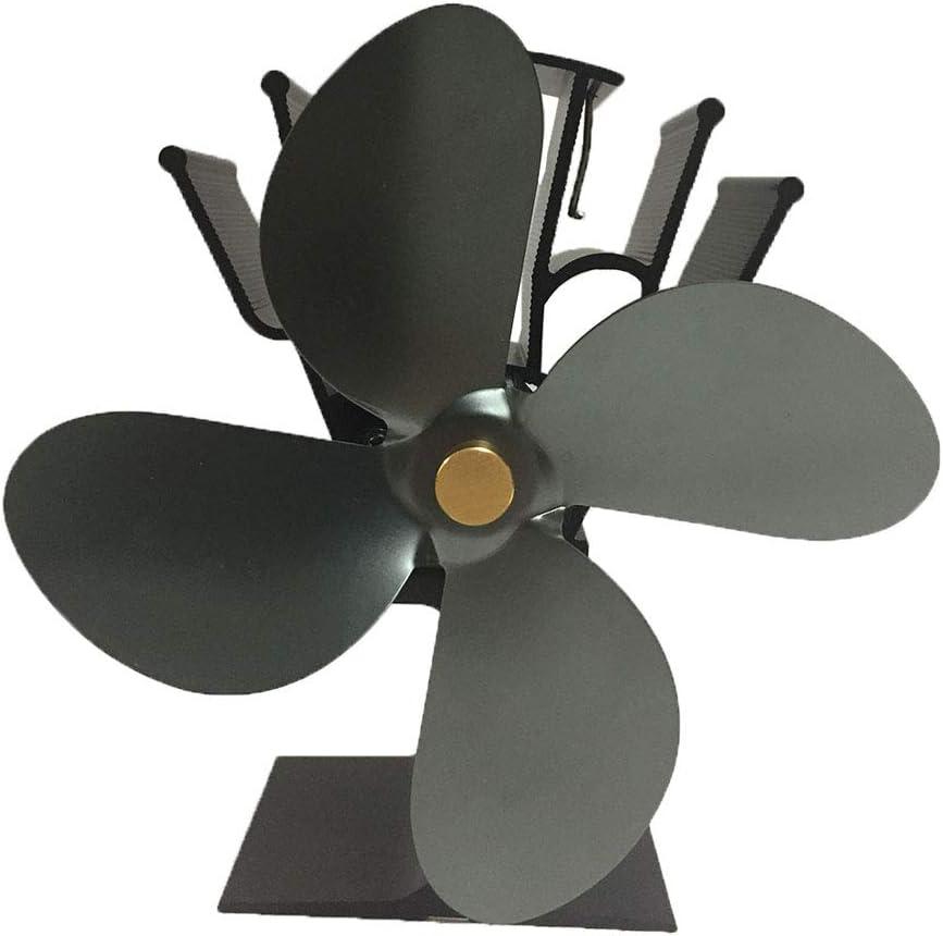 Ventilador de chimenea, Ventilador de chimenea, WULAU 4 Aspas de ...