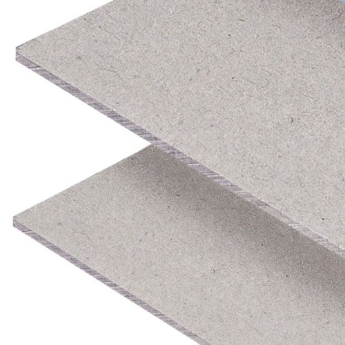 Lineco Acid-Free Book Binders Board, 100 Pt, 15 X 20.5 inches, Grey/Tan, Pack of 4 (473-4100) ()