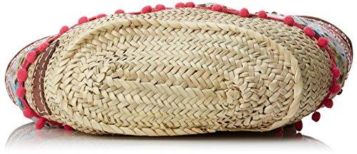 Lola Casademunt Nydia, Borsa baguette Donna, Multicolore, 19x30x52 cm (W x H x L)