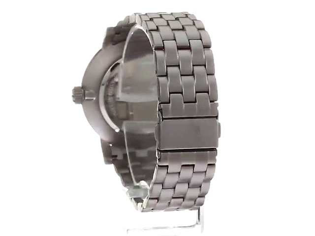 Kenneth Cole New York Men's Analog-Quartz Silver Case Leather Strap/Stainless Steel Bracelet Casual Watch,(Model:KC50395001/02)