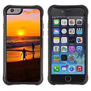 """Hypernova Defender Series TPU protection Cas Case Coque pour Apple Iphone 6 [Sunset Beautiful Nature 32""""]"""