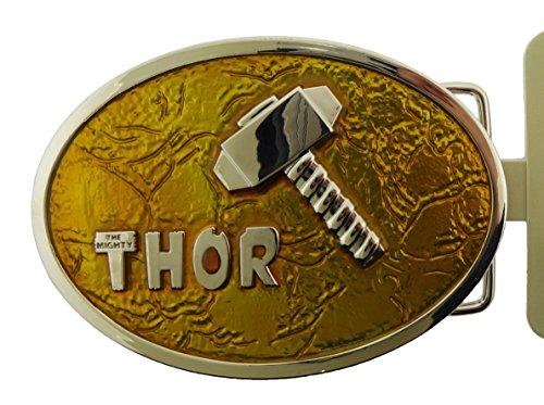 - Thor Belt Buckle Marvel Comics Unisex American Us Superhero Icon Legend